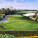 Moon Palace Golf Course, Cancun 2 by Dave Nielsen