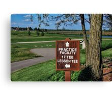 TimberPointe Golf Course Canvas Print