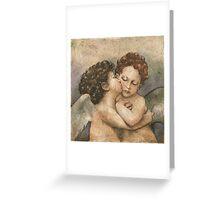 Il Bacio (after Raphael) Greeting Card