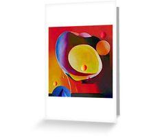 Shell In Sky Greeting Card