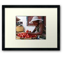 tomato? Framed Print