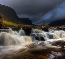 Russel Burn, Applecross, North West Scotland. by photosecosse /barbara jones