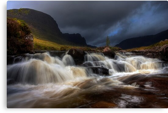 Russel Burn, Applecross, North West Scotland. by PhotosEcosse