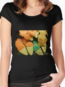 Sugary Delight Women's Fitted Scoop T-Shirt