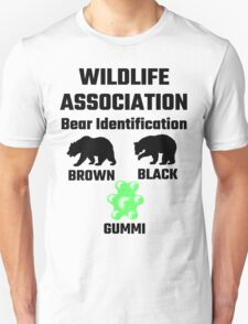 Wildlife Association Bear Identification T-Shirt