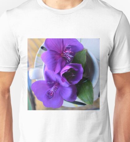 For All The T In Tibouchina Unisex T-Shirt
