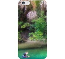 Conversing with Trees iPhone Case/Skin
