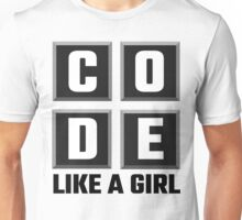 Code Like A Girl Unisex T-Shirt