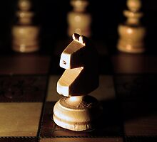 Chess Pieces by Rhys Herbert