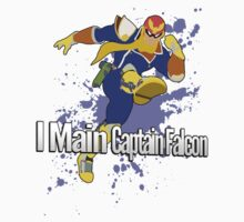 I Main Captain Falcon - Super Smash Bros. by PrincessCatanna