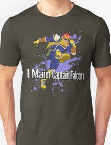 I Main Captain Falcon - Super Smash Bros. Unisex T-Shirt