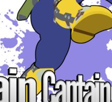 I Main Captain Falcon - Super Smash Bros. Sticker