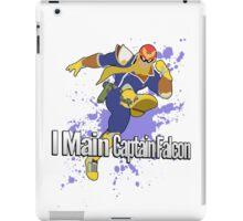 I Main Captain Falcon - Super Smash Bros. iPad Case/Skin
