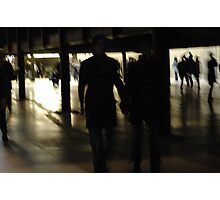Shadowy People Photographic Print