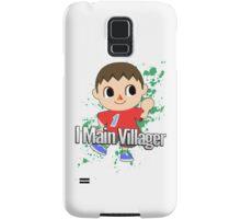 I Main Villager - Super Smash Bros. Samsung Galaxy Case/Skin