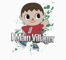 I Main Villager - Super Smash Bros. by PrincessCatanna