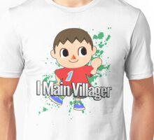 I Main Villager - Super Smash Bros. Unisex T-Shirt