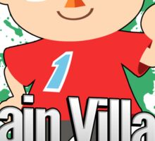 I Main Villager - Super Smash Bros. Sticker