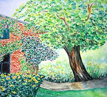 Old Walnut Tree  by Caroline  Lembke
