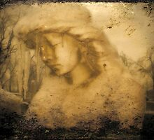 Angel In Vintage Winter by gothicolors