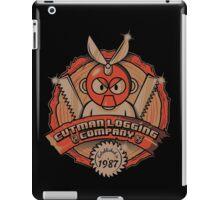 Cutman Logging Company iPad Case/Skin