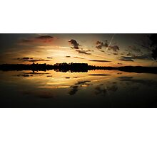 Swithland Sunset Photographic Print
