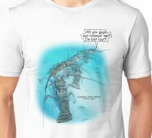 CARIBBEAN SPINY LOBSTER A Unisex T-Shirt