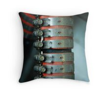 clamp Throw Pillow