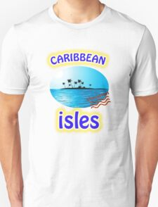 Caribbean Vacation Tee-Shirts and Stickers Unisex T-Shirt