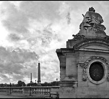 place de la Concorde by Patrick T. Power