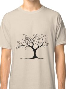 Swirly Tree - Simple and fun Classic T-Shirt
