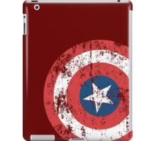 Avengers Assemble, Captain America Vintage. iPad Case/Skin