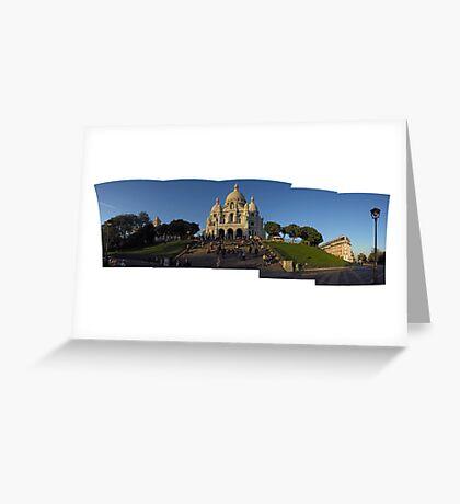 Sacré-Cœur et Montmartre Greeting Card