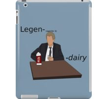Barney Stinson Legendairy iPad Case/Skin