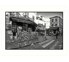 Butte Montmartre et Le Consulat Art Print