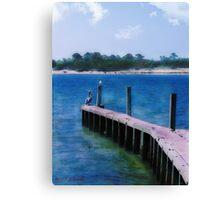 St. Vincent Island, FLA Canvas Print