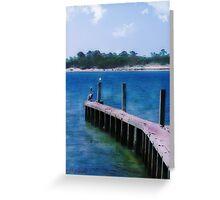 St. Vincent Island, FLA Greeting Card