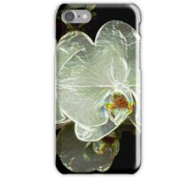 White Orchid 11 iPhone Case/Skin