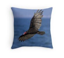 Turkey Vulture Throw Pillow