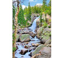 RMNP / Alberta Falls Photographic Print