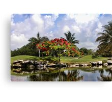 PlayaCar Golf Course, Riveria Maya Canvas Print