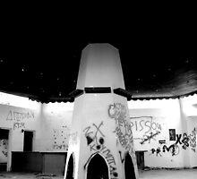 Abandoned Bar 2...B+W by DoreenPhillips