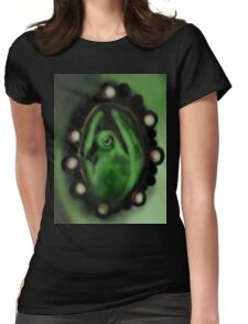 Green Pigeot Womens Fitted T-Shirt