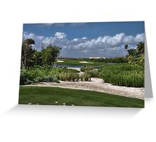 Riveria Palace Golf Course Greeting Card