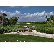 Riveria Palace Golf Course Photographic Print