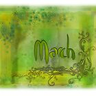 March (from a year full of color) by pentangled