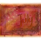 July (from a year full of color) by penn gregory