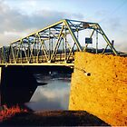 Uhlerstown-Frenchtown Bridge Between PA and NJ by Igor Pozdnyakov