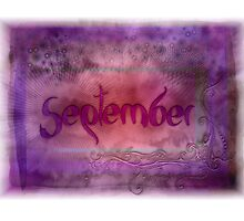 September (from a year full of color) by pentangled