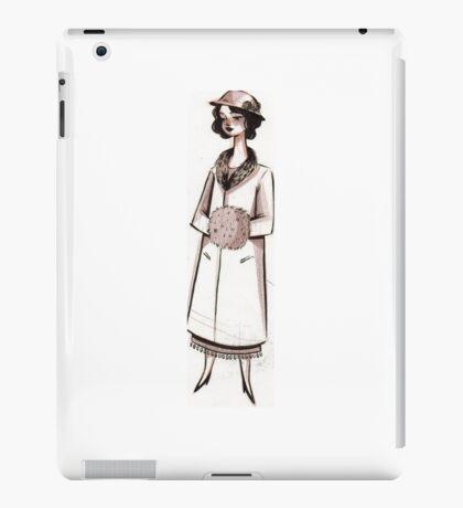 1920s Socialite iPad Case/Skin